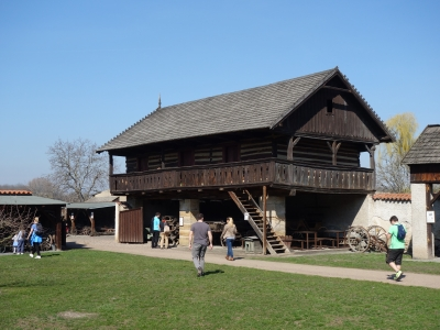 The Open Air Museum in Přerov nad Labem